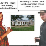 Happy 36th Birthday Manufactured Homes