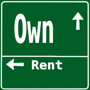 own-vs-rent-highway-sign1-posted on-manufactured-home-living-news