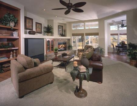 Home builders model homes