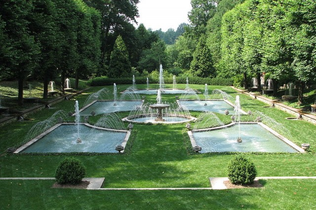 Longwood gardens kenneth square pa u s destinations for Landscaping longwood