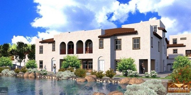 Valencia grove affordable senior living project redlands for Off site built homes
