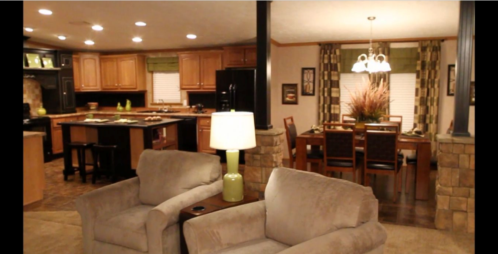Featured home - Living room ideas for mobile homes ...