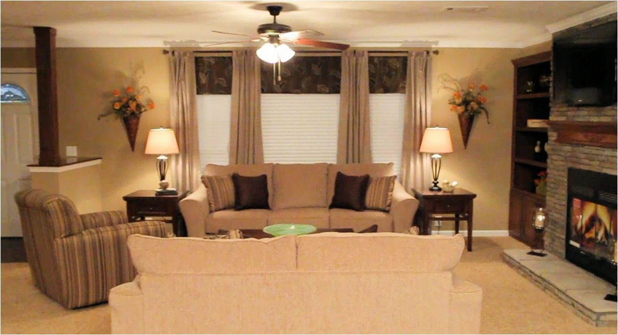 Featured home for Mobile home living room designs