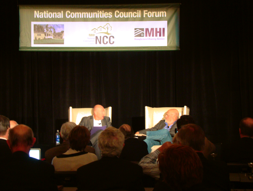 nathan-smith-ssk-communities-mhi-chairman-left-sam-zell-equity-lifestyle-properties-els-right-10-17-2013ncc-fall-forum-c-manufactured-home-living-news