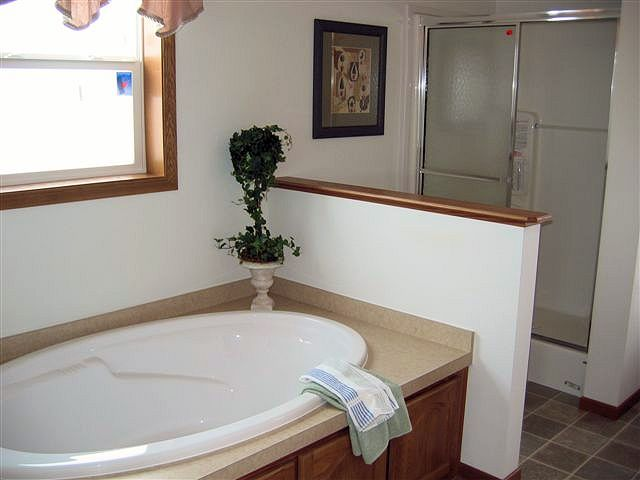 7-Model# A8M3R72-W02 Tanner, Master Bath with Soaker Tub and 4