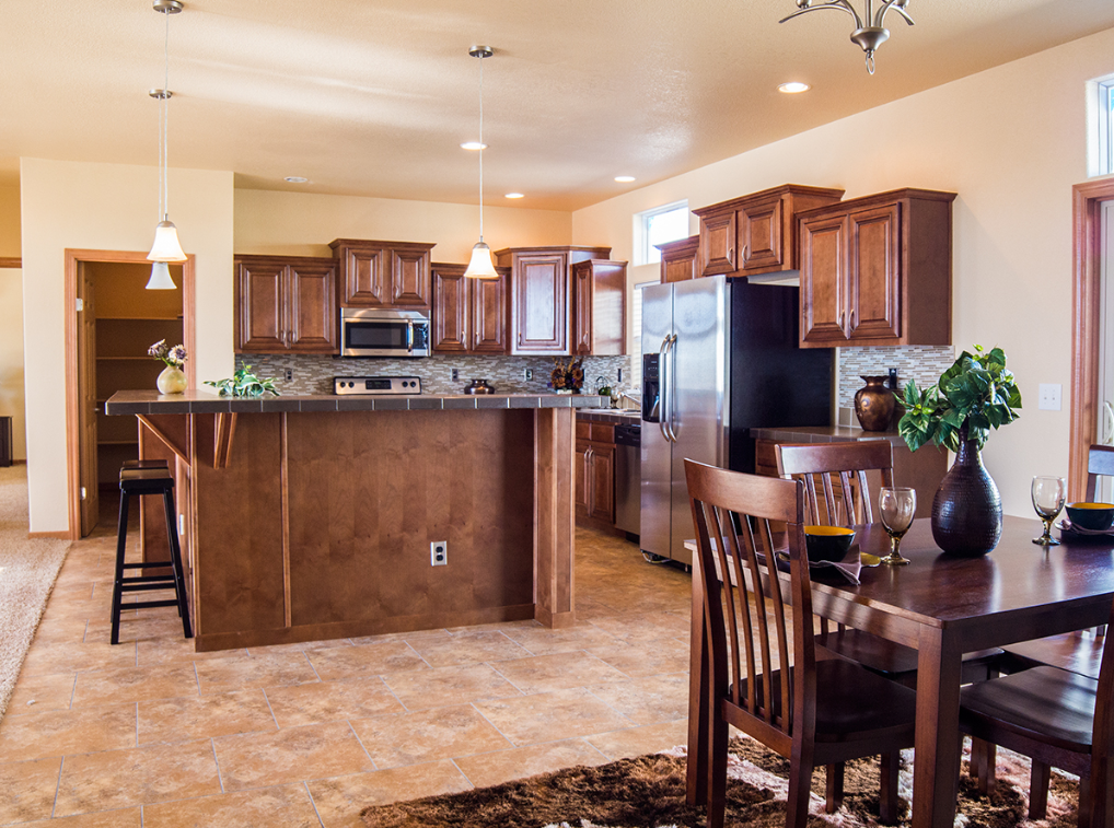 Kitchen Model Homes magnolia model home 213 | manufacturedhomelivingnews