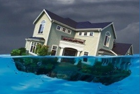 RealtyTrac, Bloomberg & Case-Shiller report on Underwater Mortgages for Conventional Site-Built Houses