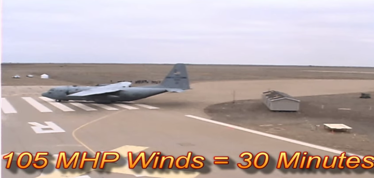 c-130-hercules-aircraft-105-mph-winds-on-single-section-single-wide-manufactured-home-