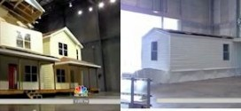 NBC News Today Show – Manufactured Home Performs better than Conventional Housing construction – in IBHS Hurricane Wind Tests