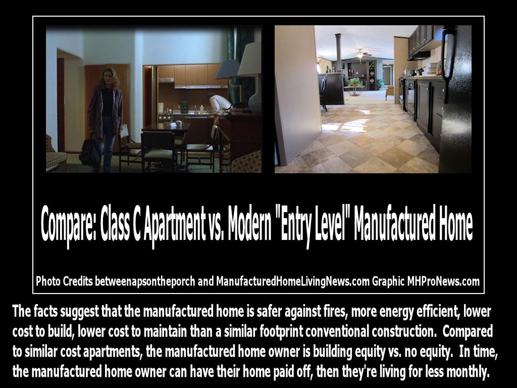 Compare Interiors Class C Apartment Vs Modern Manufactured