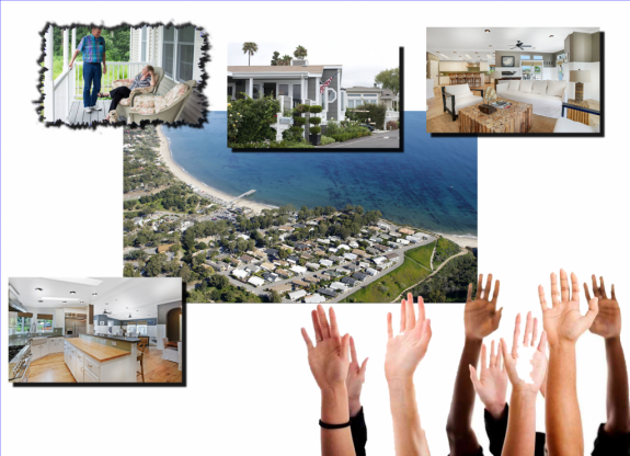 collage-wall-street-journalcreditmillion-dollar-manufactured-homes-paradise-cover-malibu-ca-npr-org-hands-raised2-mhlivingnews-com-1024x741-575x416
