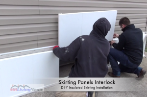 Do it yourself insulated skirting installation for manufactured do it yourself insulated skirting installation craig albers solutioingenieria Images