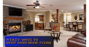 4EasyWaysKeepHomeClean-TunicaManufacturedHousingShowModel-MHLivingNews-com-615x422-