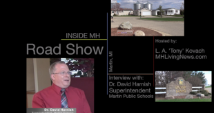 DrDavidHarnishSuperindentSchoolsMartinMI-DoverFarmsCaronCampbellProperties-InsideMHRoadShow-MHLivingNews-com-575x370