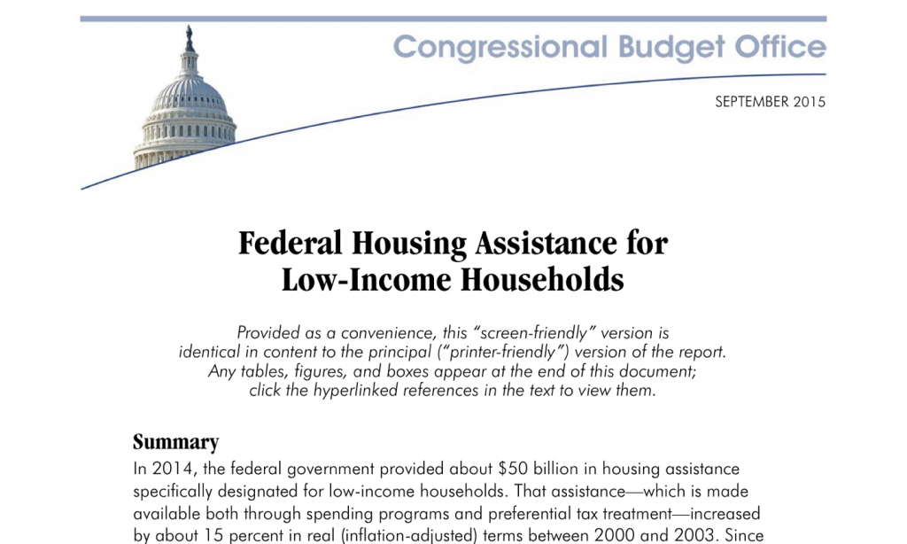 FederalAssistanceLowIncomeHouseholds
