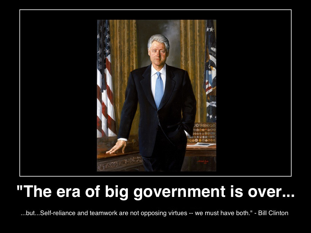 the-era-of-big-government-is-over-bill-clinton-poster-(c)-2013-manufactured-housing-mhpronews-
