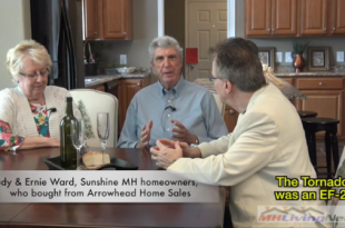 JudyErnieWardSunshineHomeOwners-ManufacturedHomeLivingNews-InsideMHRoadShowVideo-