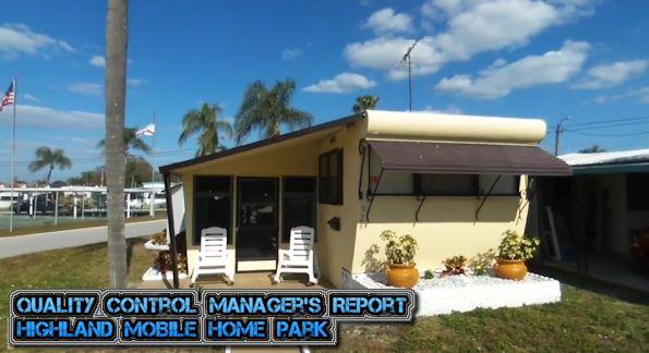 Mobile Home Park St Petersburg FL HighlandMobileHomeParkStPetersburg ClearwaterTampaMetroFL InsideMH ManufacturedHomeLivingNews