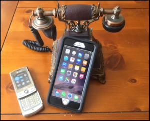 PhoneEvolutionCrankOldCellModernSmartPhone-MHLivingNews-com354-286