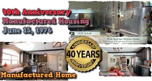 40AnniversaryManufacturedHomes-SchultTrailerHouse-SpartanMobileHome-SunshineHomes-ManufacturedHomeLivingNewsVideo-