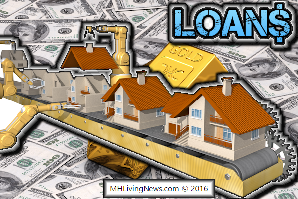 Loans financing mortgages for manufactured modular for Loan for land only