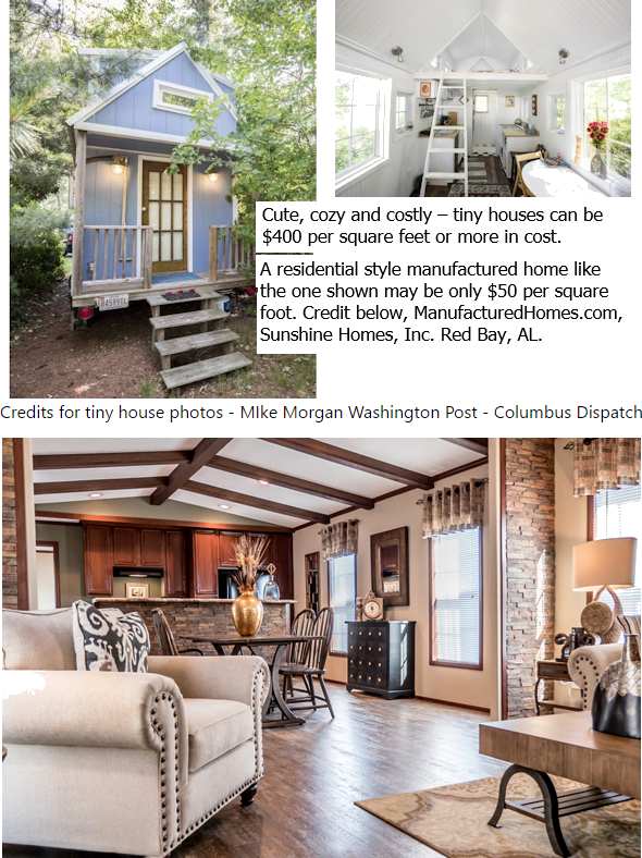 Comparing tiny houses vs manufactured homes function and - Manufactured vs mobile home ...