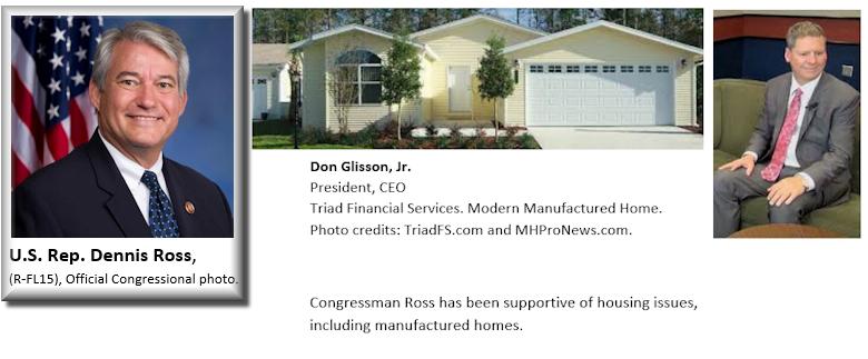 CongressmanDennisRossR-FL15-DonGlissonJrTriadFinancial-collageMHProNews-PostedMHLivingNews