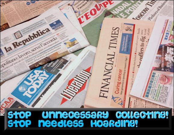 StopUnnecessaryCollecting!StopNeedlessHoarding!CleanHealthyHabitsMHLivingNewsGraphicStockManufacturedHomeLivingNews