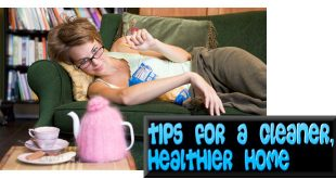 TipsForCleanerHealthierHome_MHLivingNewsGraphicStockManufacturedHomeLivingNews