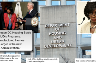 DrCarsonHUDSecretaryVPMIkePenceD-CA-MaxineWatersHUDOfficeBldg_Collage=MHLivingNews