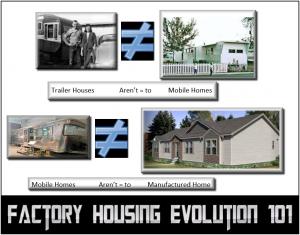FactoryHousingEvolution101TrailerHouseMobileHomeManufacturedHome