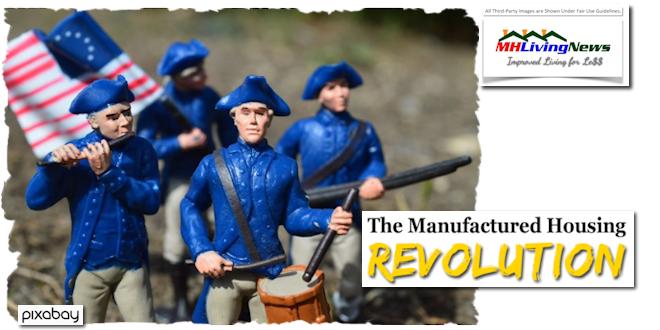 TheManufacturedHousingRevolutionManufacturedHomeLivingNewsLogo