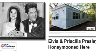 ElvisPriscillaPresleyHoneymoonedHereInThis1960sMobileHomeManufacturedHomeLivingNews