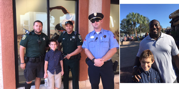 LawEnforcementDisneySprings2017WithTamasKovachMHLivingNews
