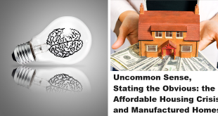 UncommonSenseStatingtheObviousAffordableHousingCrisisManufacturedHomes