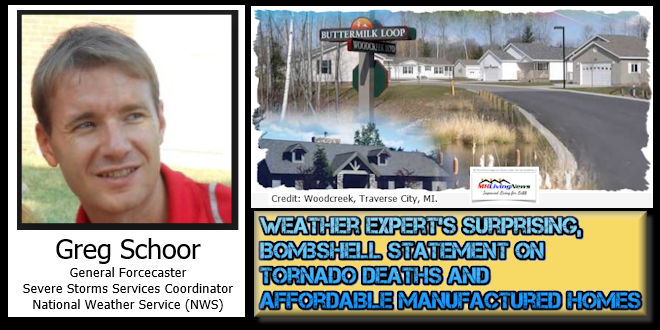 Weather Expert's Surprising, Bombshell Statement on Tornado Deaths and Affordable Manufactured Homes