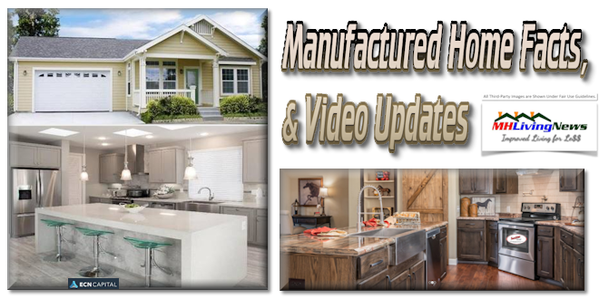 U.S. Association, Plus Canadian-Owned U.S. based MH Lender Release Video, Facts on Modern Manufactured Homes and MH Homebuyers
