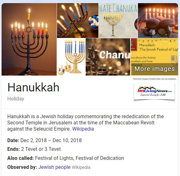 HanukkahMenorahDefinitionDatesDec2-10-2018ManufacturedHomeLivingNews