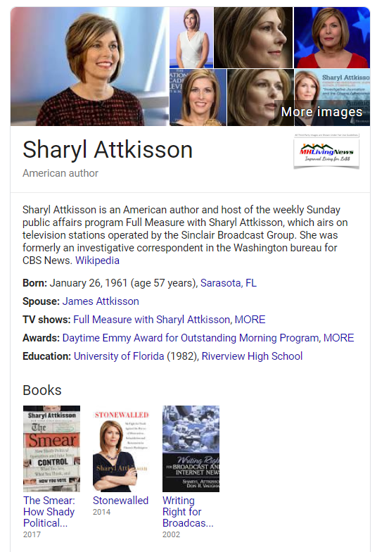 SharylAttkissonFullMeasureFormerlyCBSNewsManufacturedHomeLivingNews