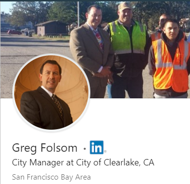 GregFolsomCityManagerClearlakeCALinkedinManufacturedHomeLivingNews