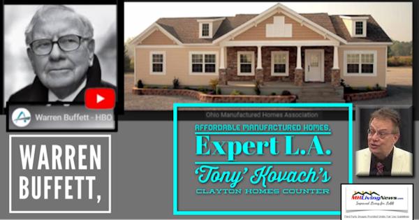 Warren Buffett, Affordable Manufactured Homes, Expert L A