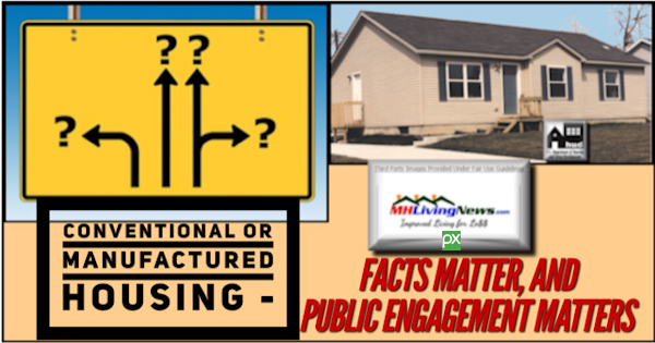 Conventional or Manufactured Housing - Facts Matter, and Public Engagement Matters Too