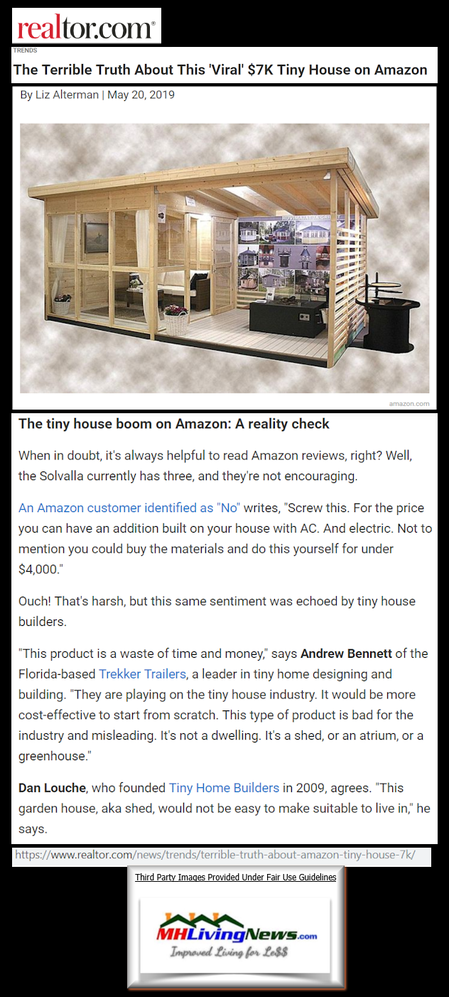 Markech says Amazon Selling New Homes for Under $20,000 ... on building over a house, building a manufactured home, adding garage to mobile home, building over garage, building on to existing home, building additions on mobile homes,