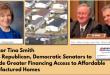 SenatorsTinaSmithMikeCrapoSherrodBrownManufacturedHomesFannieMaeFreddieMacFHFA-GSEreformManufacturedHomeLivingNews
