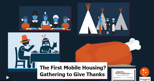 The First Mobile Housing? Gathering Together to Give Thanks