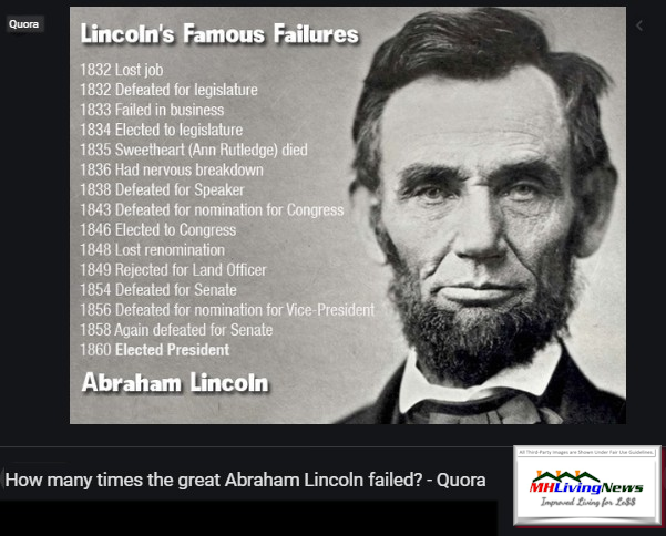 LincolnFamousFailuresSuccessHistoryQuoraManufacturedHomeLivingNews