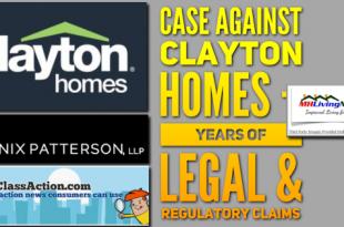 CaseAgainstClaytonHomesYearsLegalRegulatoryClaimsManufacturedHomeLivingNewsLogos